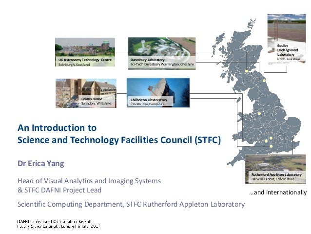 Dr Erica Yang Head of Visual Analytics and Imaging Systems & STFC DAFNI Project Lead Scientific Computing Department, STFC...
