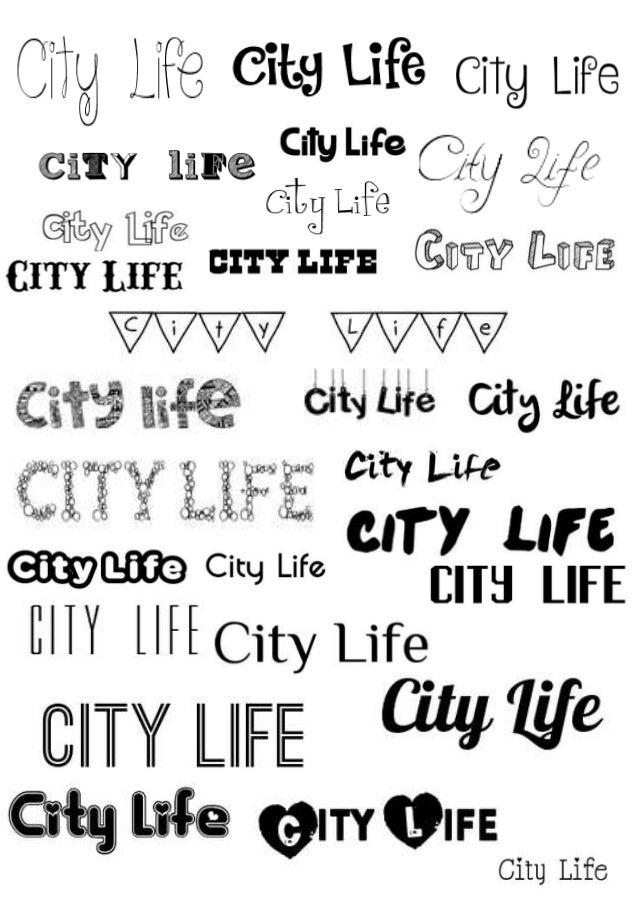 Dafont city life stopboris Images