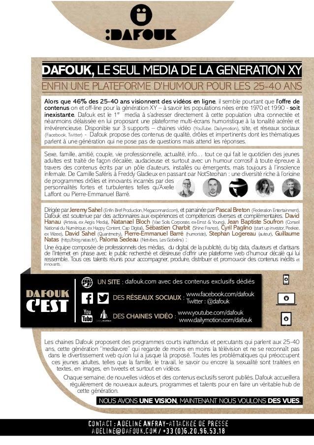 Dossier de presse Dafouk Slide 3