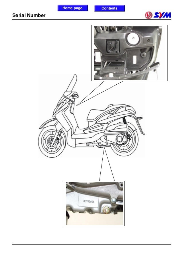 sanyang lh30w efi series scooter shop manual