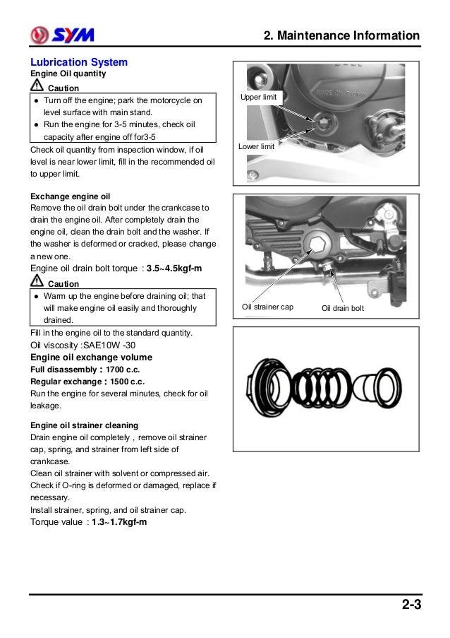 sym wolf classic service manual