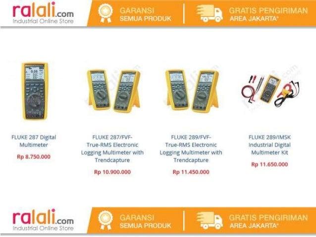 Daftar Harga Multimeter Merk Fluke di Indonesia