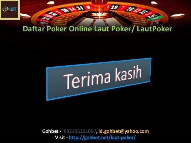 Daftar Poker Online Laut Poker
