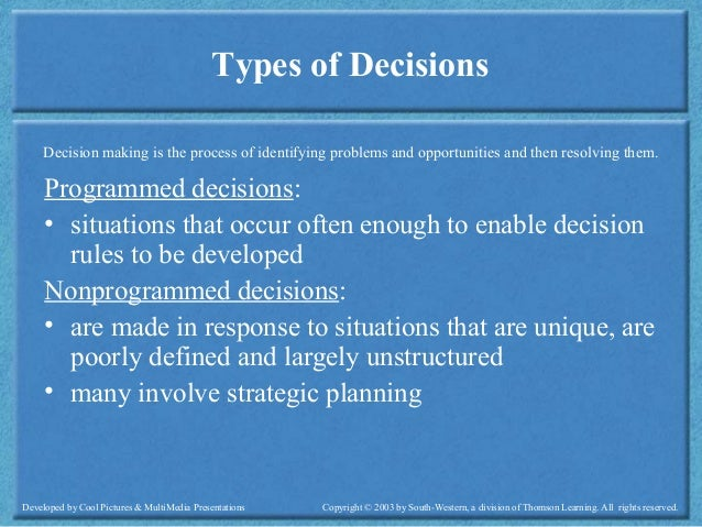 over view of the decision making Find all available study guides and summaries for decision making by harvard business essentials if there is a sparknotes, shmoop, or cliff notes guide, we will have it listed here.