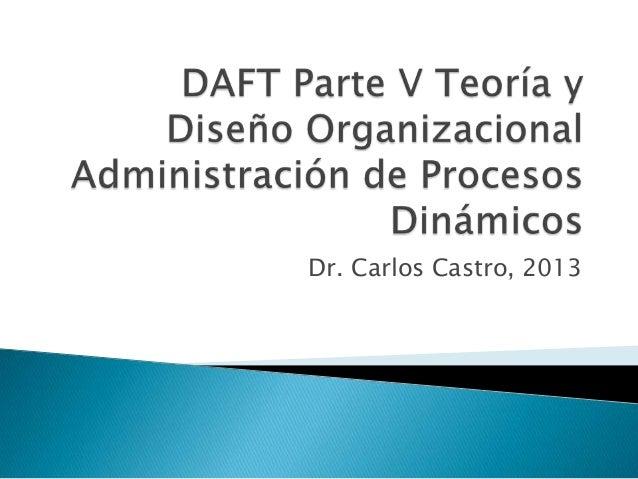 Dr. Carlos Castro, 2013