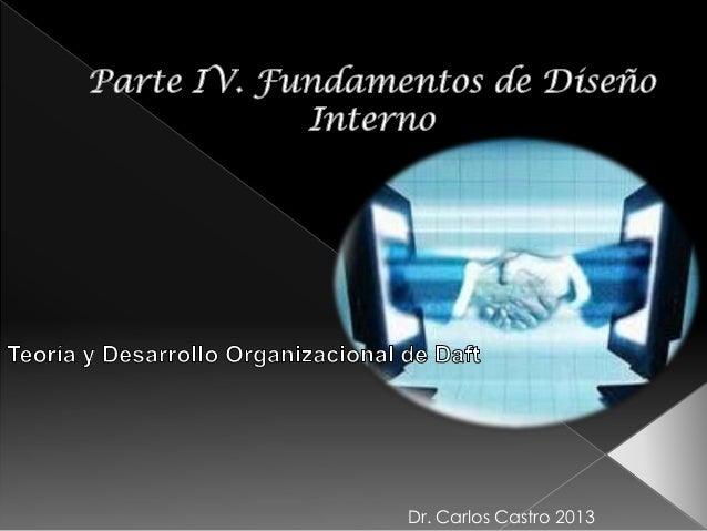 Dr. Carlos Castro 2013