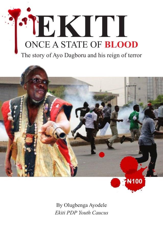 EKITI ONCE A STATE OF BLOOD