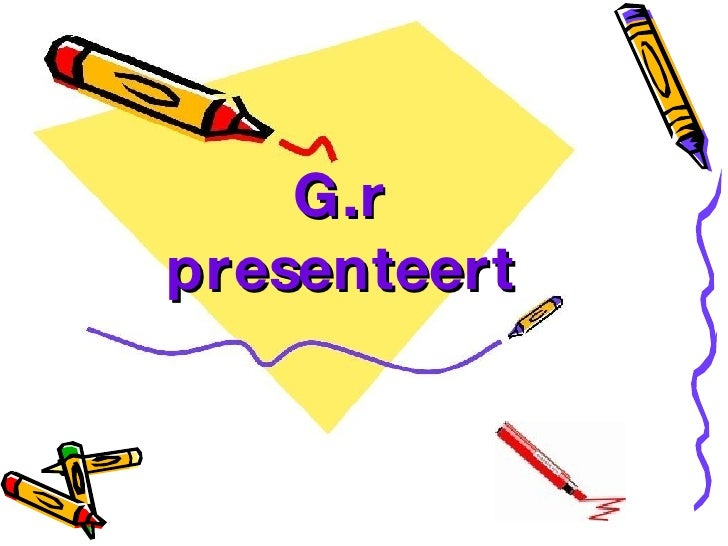 G.r presenteert