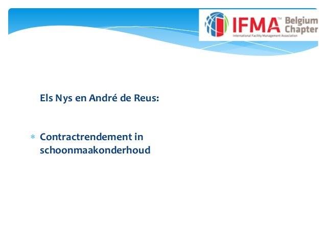 Els Nys en André de Reus:  Contractrendement in schoonmaakonderhoud