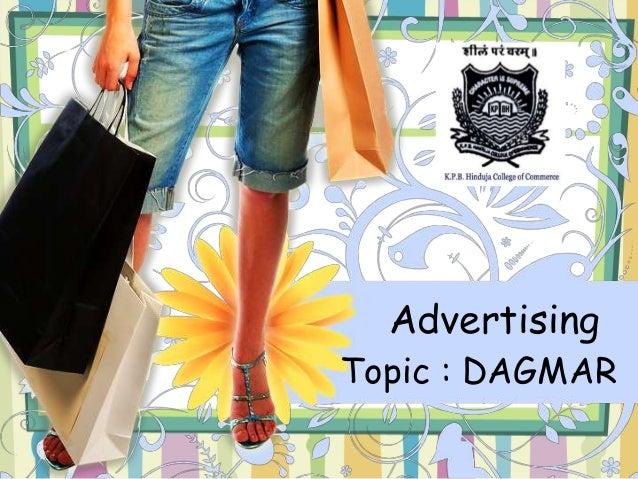Advertising  Topic : DAGMAR