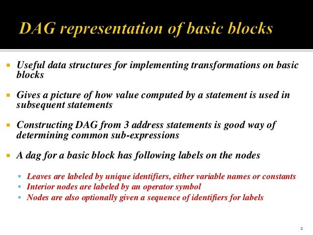 compiler and explain dag representation Explain the phases of a compiler describe compiler writing tools discuss lexical analysis and its tool what is context-free grammar explain top-down and bottom-up parser akubiharcom design ll(i) parse table for the  what do you mean by dag representation turn otir.