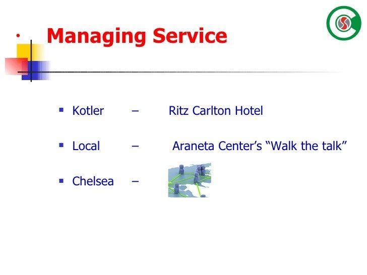 Ritz Carlton's Management Objectives and Goals Essay