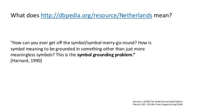 More ways of symbol grounding for knowledge graphs? Slide 2