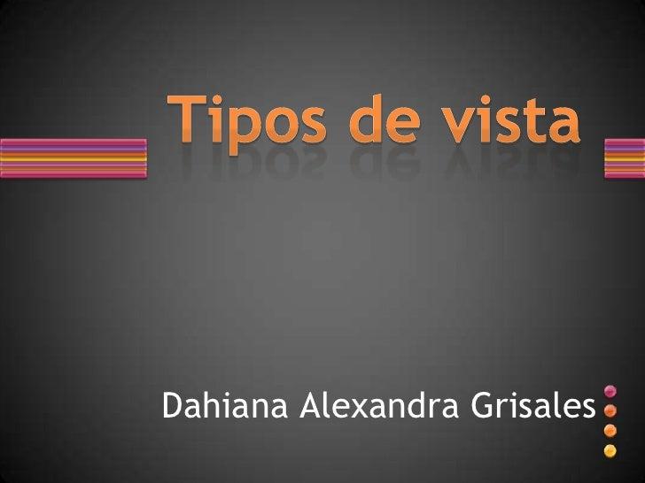 Dahiana Alexandra Grisales