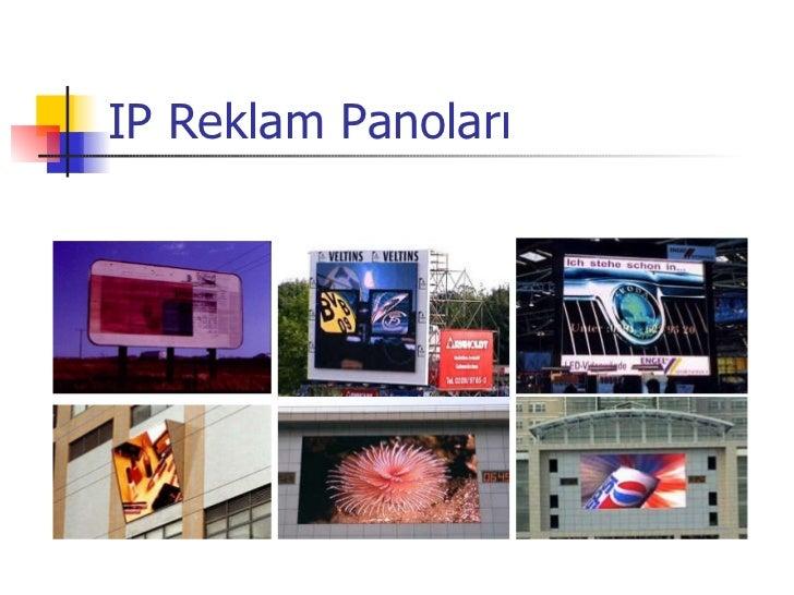 IP Reklam Panoları