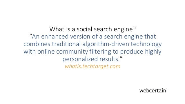 Daiana Damacus - Putting the social in social search engines Slide 2