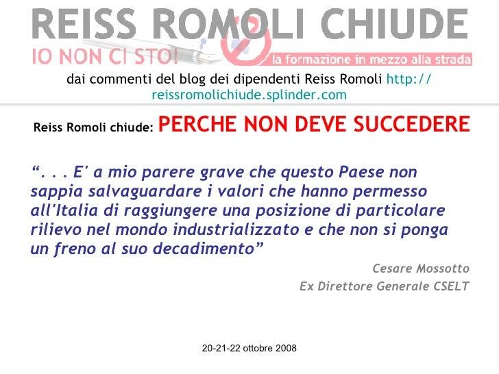 """<ul><li>"""" . . . E' a mio parere grave che questo Paese non sappia salvaguardare i valori che hanno permesso all'Italia di ..."""