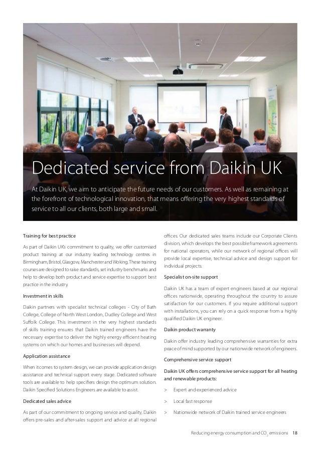 Daikin commercial heating brochure