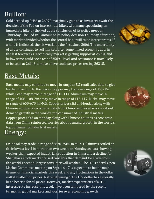 Top stories in Commodities
