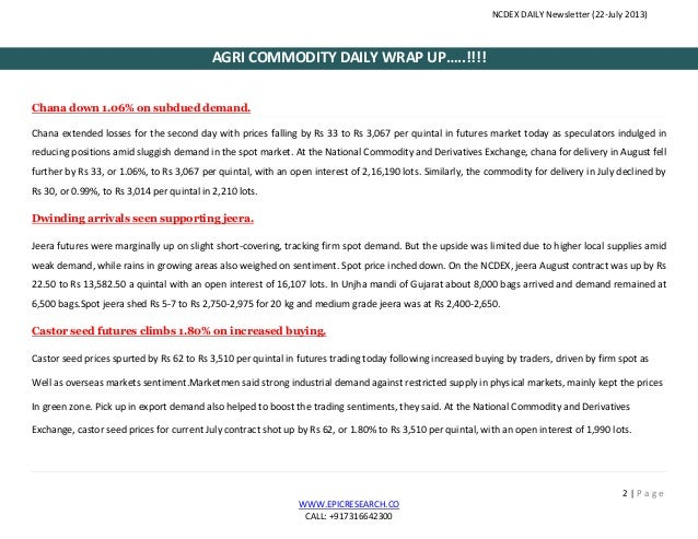 Daily agri-report 22.july.2013 Slide 3