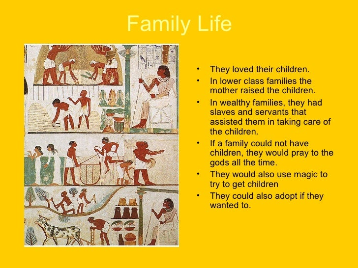 Daily Life Ancient Egypt