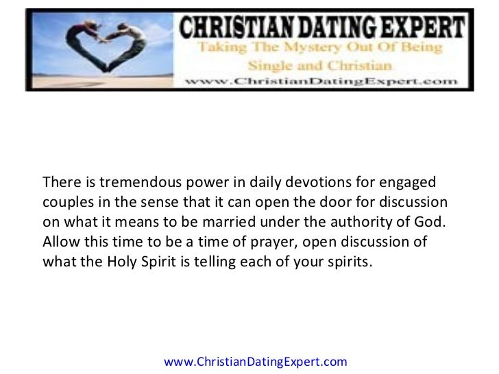 Devotions for christian dating