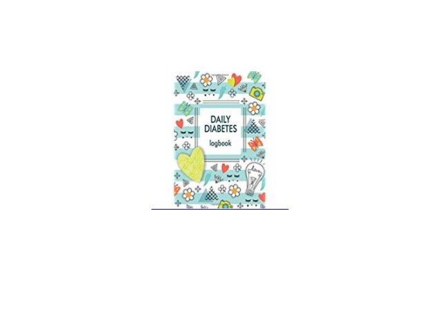 Book Audiobook Library Daily Diabetes Logbook For Kids Blood Sugar Lo