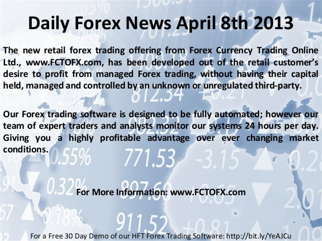 Daily news forex opinie