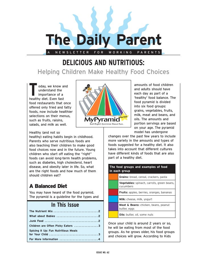 The Daily Parent                               A            NEWSLETTER                                                    ...