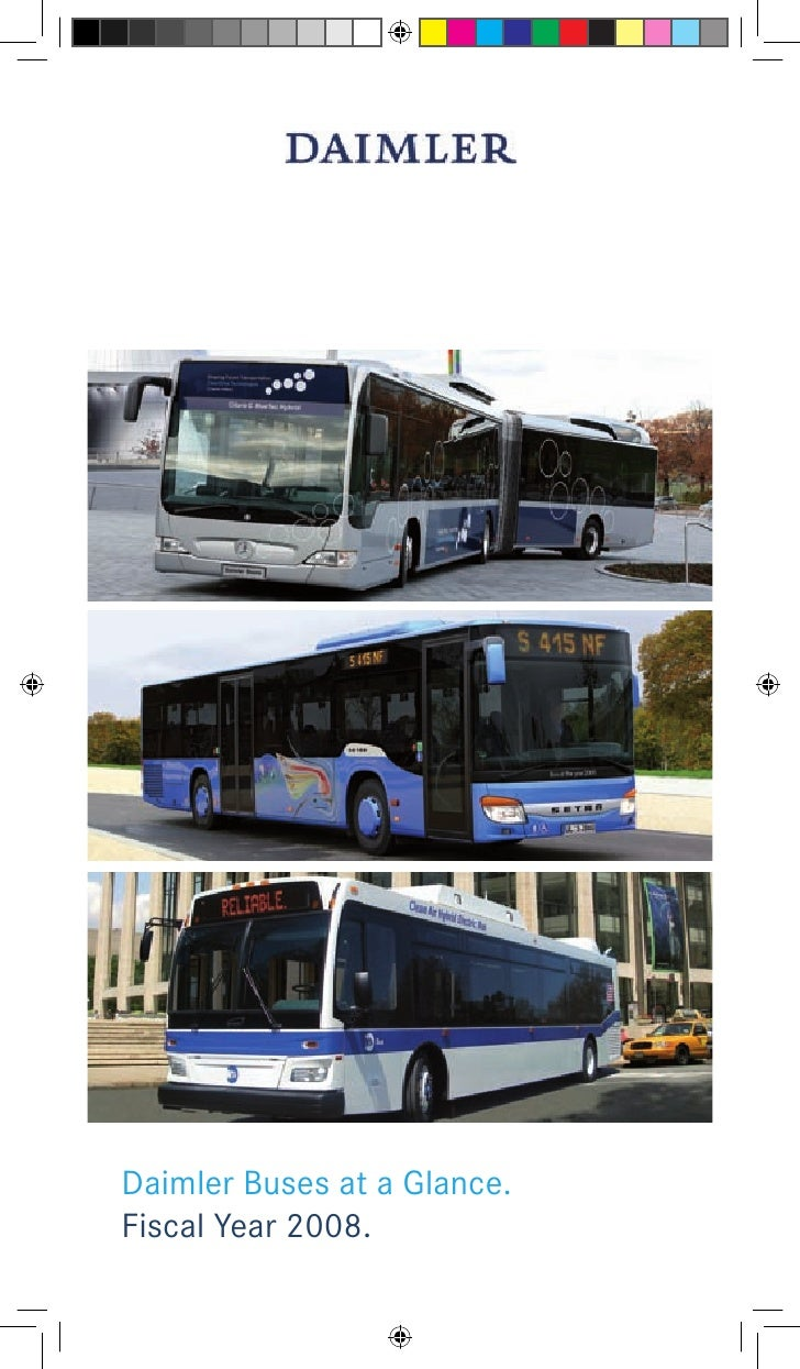 Daimler Buses at a Glance. Fiscal Year 2008.