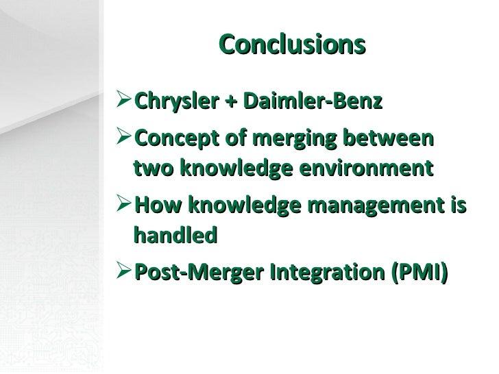 Daimler-Chrysler: Post Merger News Analysis