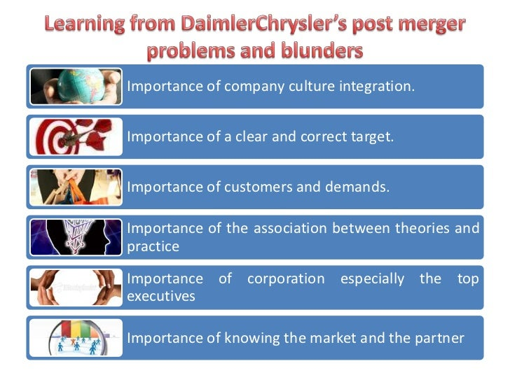 daimlerchryslers business strategy Daimlerchrysler's it vendors may it has also invested heavily in a failed strategy of holding market although certain it and e-business projects.
