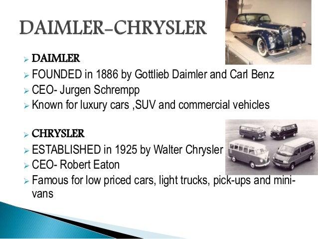 Daimler Chrysler Ppt New