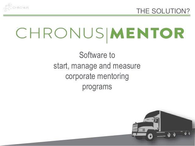 Case study on tvh mentoring program
