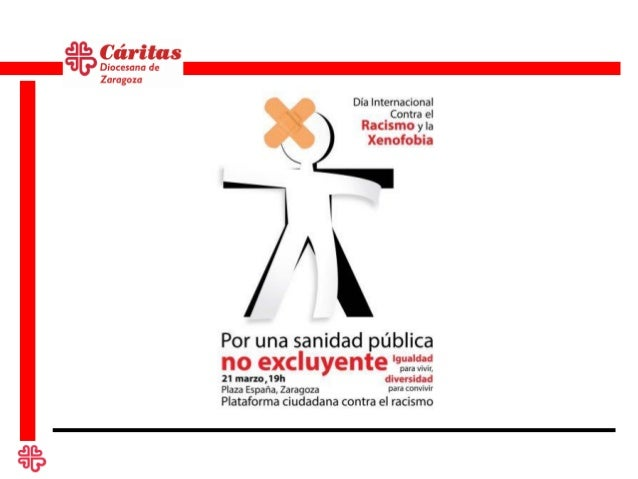 Cáritas Diocesana de Zaragoza como miembro de la Plataforma Ciudadana contra el Racismo,      te invita a difundir y a par...
