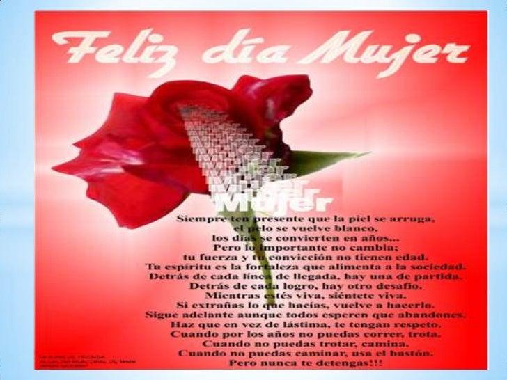 * Muchas felicitaciones a todas las      mujeres, en especial a las del Centro           Educativo Mi EstanciaQue la bonda...