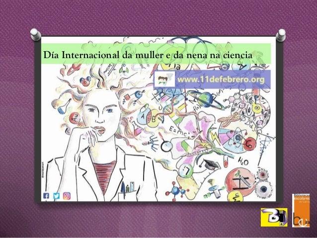 Día Internacional da muller e da nena na ciencia