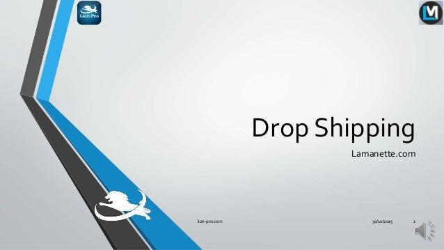 Drop Shipping Lamanette.com 30/10/2015lion-pro.com 1