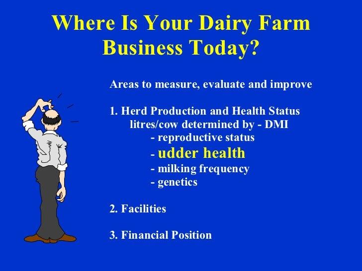 smeda business plan for dairy farm