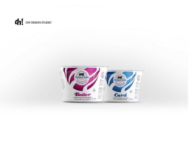 Creative Packaging Design for Dairy Brand