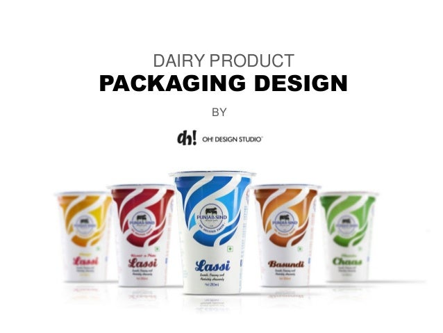 DAIRY PRODUCT PACKAGING DESIGN BY