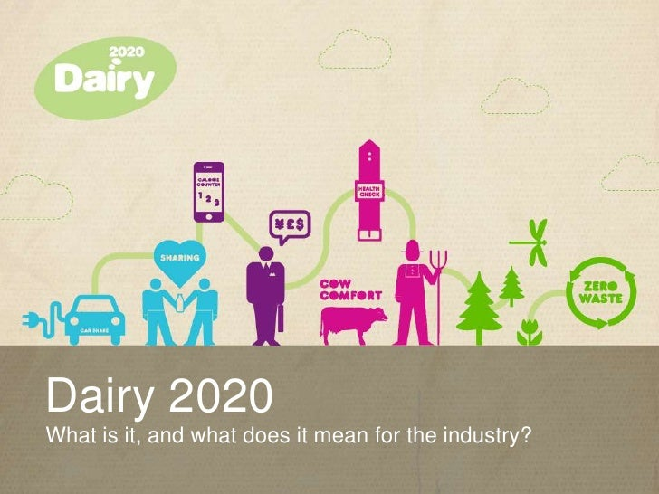 Dairy 2020What is it, and what does it mean for the industry?