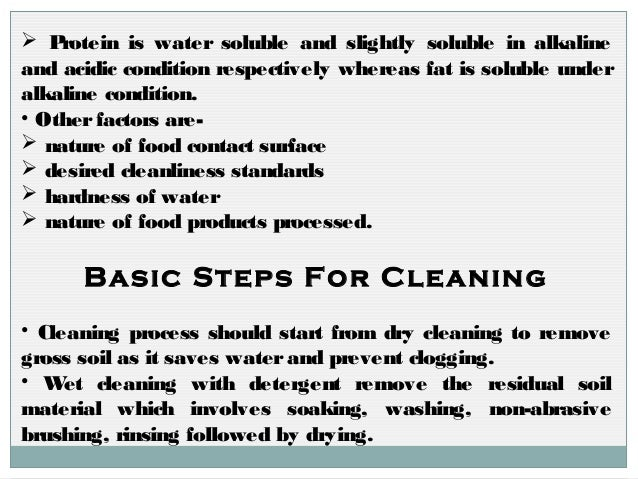 Dairy and meat processing plants cleaning by Geeta Chauhan