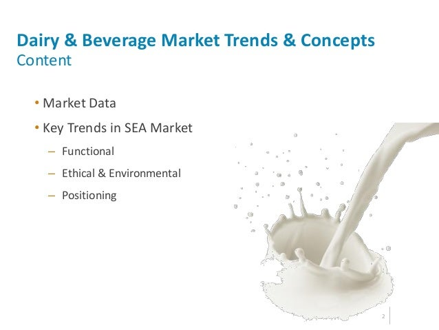 dairy alternative beverage market trends Dairy alternative market overview and industry forecast: dairy alternative market is expected to garner $217 billion by 2022, registering a cagr of 133% during the forecast period 2016-2022 dairy alternative based food and beverages are prepared from dairy-free milk, extracted from various plant based sources.