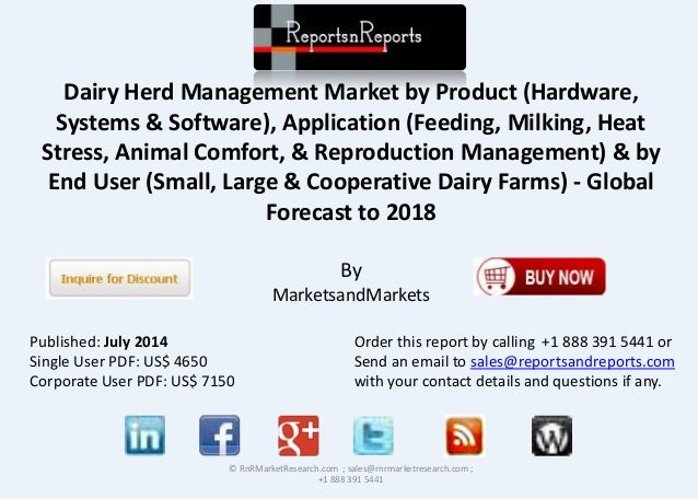 Dairy Herd Management Market by Product (Hardware, Systems & Software), Application (Feeding, Milking, Heat Stress, Animal...
