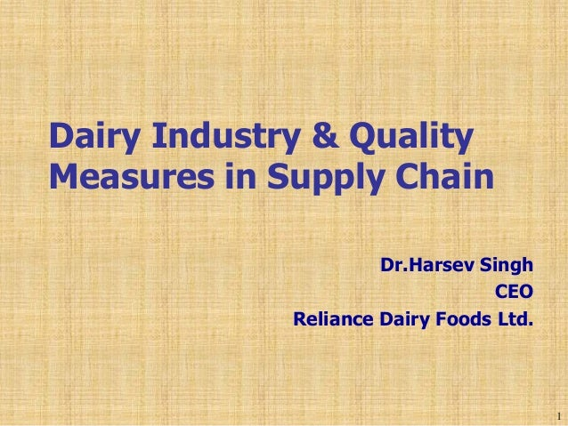 dairy industry supply chain Supply chain planning is always complex, but the dairy industry poses a unique set of challenges - single input producing read more.