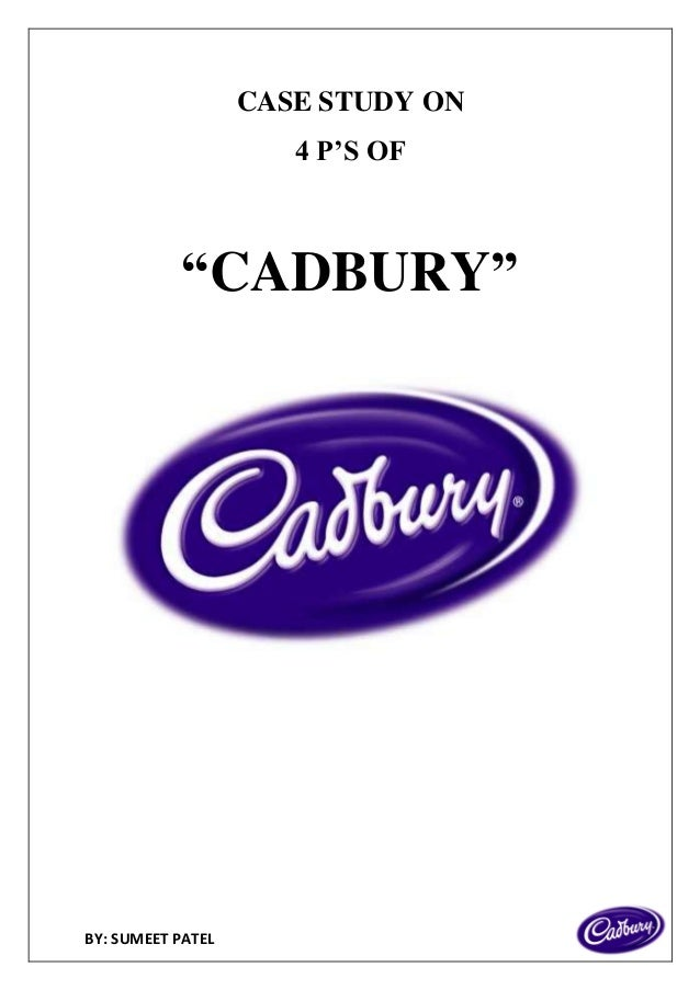 cadbury 4ps Contentsobjectivedetailspage number1an investigation of the current marketing mix of cadbury's2 i am going to investigate the current marketing mix and the strategies used by cadbury's the marketing mix is the '4ps marketing a new product for cadbury's (2004, april 14) in.