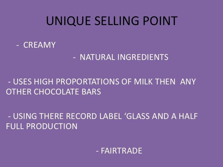 usp of cadbury dairy milk