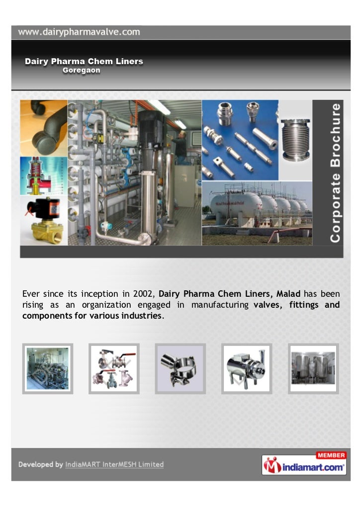 Ever since its inception in 2002, Dairy Pharma Chem Liners, Malad has beenrising as an organization engaged in manufacturi...