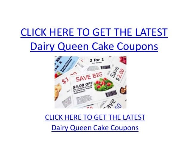 picture regarding Printable Dairy Queen Coupons titled Dairy Queen Cake Discount codes - Printable Dairy Queen Cake Discount coupons